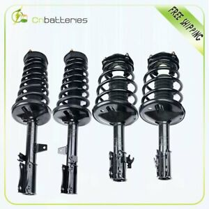 For 1995 1996 Toyota Camry Complete Struts Shocks W Coil Springs Mount Kit 4
