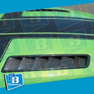 Apr Performance Carbon Fiber Hood Vent Fit For 2013 2014 Ford Mustang Gt 5 0l