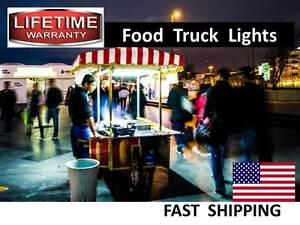 Pull Behind Hot Dog Cart Milkshake Stand Led Light Kit Ac Or Dc Part
