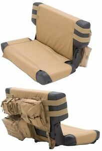 Smittybilt Gear Molle Rear Seat Cover With Pouches For 76 06 Jeep Cj