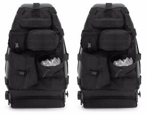 Smittybilt Gear Front Seat Cover Set 14 Pouches For 1976 2006 Jeep Cj Yj Tj Lj