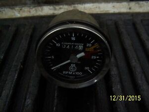 Tachometer For Tractor Forklift And More