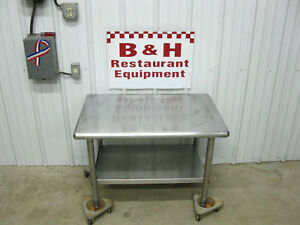 24 X 36 Heavy Duty Stainless Steel Prep Work Table Equipment Stand 2 X 3