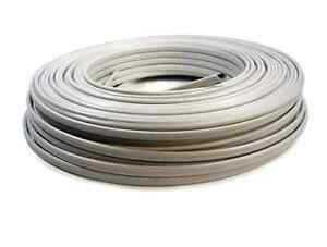 White Indoor Non Metallic Electrical Copper Jacket Wire 250 ft 14 2 Available