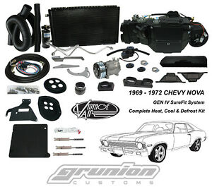 Vintage Air Chevy Nova 1969 972 W Ac Heat Air Conditioning Defrost Kit 965072