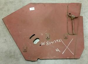Lh Elevator Frame End Plate Athey Mobil M8a 4yd Lightfoot Street Sweeper w804393