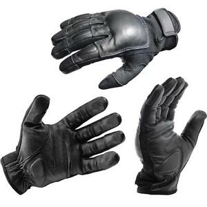 L Official Leather Police Tactical Real Weighted Sap Gloves lifetime Warranty