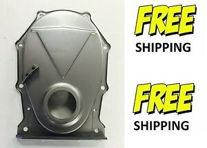 383 440 Timing Cover Correct Repro Bb Mopar Engine Timing Cover With Welded Tab