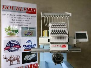 Commercial Embroidery Machine Compact new Single Head 15 Needles New Style