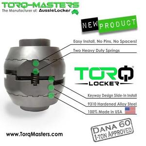 Torq Locker Dana 60 35 Spline Tl 16035 tor Aussie Mechanical Traction Usa Made