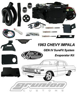 Vintage Air 1963 Chevy Impala W Factory Ac Air Conditioning Evaporator Kit