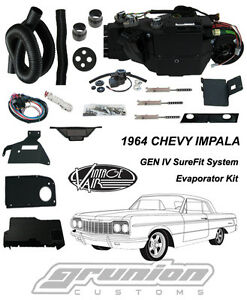 1964 Chevy Impala W Factory Ac Vintage Air Conditioner Evaporator Kit