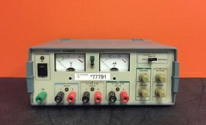 Tektronix Cps250 120 Watts 100 To 250 Vac Triple Output Power Supply tested