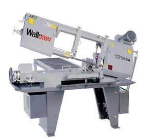 Wellsaw 1318 sa 13 X 18 Semi automatic Band Saw Made In Usa
