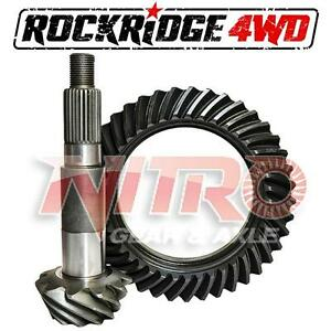 Nitro Ring Pinion Dana Model 35 3 73 Ratio Standard Rotation Jeep Ford Dodge