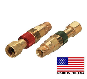 Western Torch To Hose Quick Connect connector Disconnect Set Qdb10
