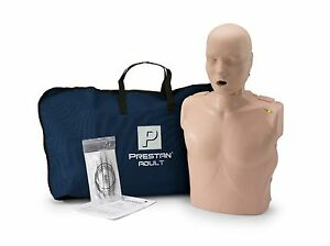 Prestan Manikin Cpr Aed Training Manikin Adult W monitor Mid Tone Pp am 100m ms