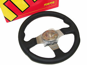 Momo Steering Wheel Race 320mm leather anthracite Spoke