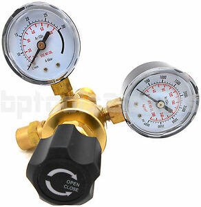 Argon Co2 Brass Regulators Gauges For Welding Cga580 Miller Lincoln Mig Tig