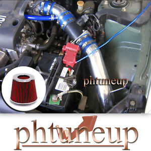 Blue Red Fit 2002 2006 Nissan Altima 2 5 2 5l Base S Sl Cold Air Intake Kit