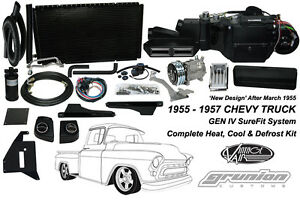 Vintage Air 1955 1957 Chevy Truck W deluxe Cntrls Complete Air Conditioning Kit