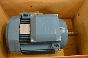 Abb 11kw 14 75hp 1770 Rpm 460v Frame 160m M3aa 160 M 4 Electric Motor