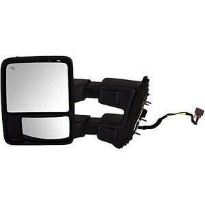 New Oem 2009 2012 Ford Super Duty Left Power Heated Signal Lamp Towing Mirror