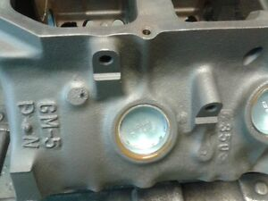 Reconditioned Pontiac 350 Block