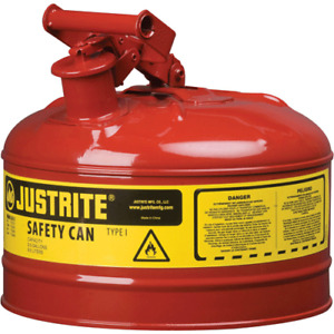Justrite 7110100 1 gallon Safety Can