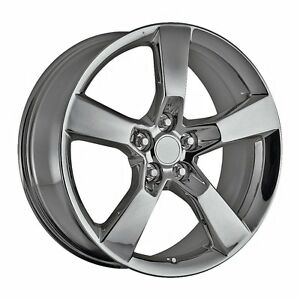 4 20 Staggered Camaro Ss Wheels Rims Set Pvd Black Chrome Fits 2010 Current