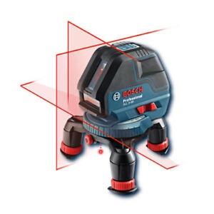 Bosch Gll3 50 Self leveling Three Line Laser With Layout Beam
