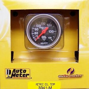 Autometer 3341 M Sport Comp Metric Oil Temp Gauges