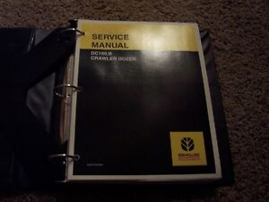 New Holland Dc180 B Dc180 b Crawler Tractor Dozer Shop Service Repair Manual