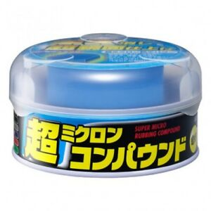Soft99 Super Micro Rubbing Compound For Dark Metallic Color Car 180 G