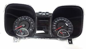 2013 Chevrolet Malibu Instrument Panel Gage Cluster Speedometer 22932762