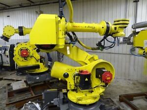Fanuc R2000ib 210f 6 Axis Cnc Robot With R30ia Controller