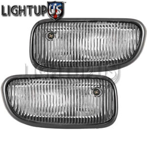 1999 2003 Jeep Grand Cherokee Left Right Pair Performance Clear Lens Fog Lights