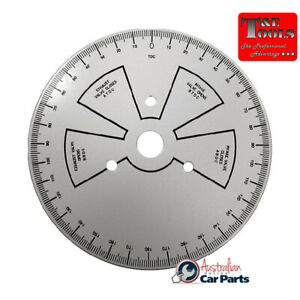 Tdc Timing Degree Wheel T E Tools 4096 New For Use On Most Makes Models