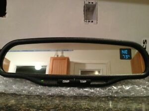Gentex Donnely 015607 Auto Dim Mirror With Compass And Temp Dual Display