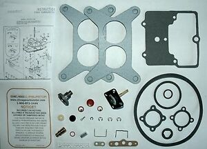 1957 Carb Kit Ford Motorcraft 2100 Series 2 Barrel V8 Engines Ethanol Tolerant