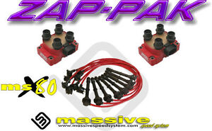Ignition Kit Msd Coil Packs Msx80 Spark Plug Cables Wires Cobra 4 6 Dohc Mustang