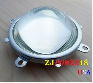 77mm Lens 82mm Reflector Collimator Base Fixed Bracket For 20w 100w Led