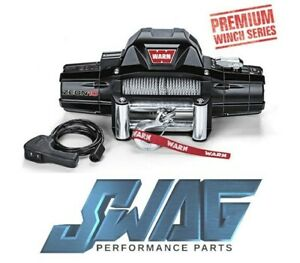 Warn Zeon 10 Series 10 000lb Recovery Winch Jeep Truck Suv 80 Ft Rope