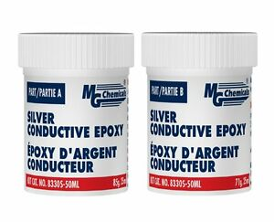 Mg Chemicals 8330s 50ml Silver Epoxy Extreme Conductivity