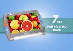 7 Iview 7 Hd Color Portable Video Magnifier Low Vision Rechargeable Distance