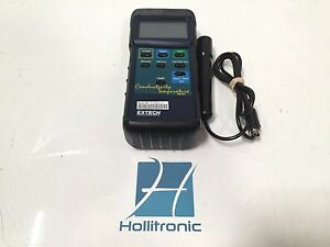 Extech Conductivity Temperature Meter With Probe