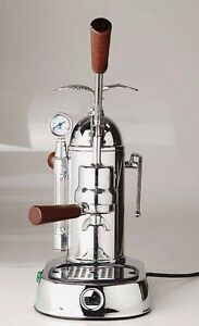 La Pavoni Grl Gran Romantica Manual Lever Espresso Coffee Cappuccino Machine