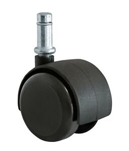 Chromcraft Dinning Chair Casters Wheels Replacement Parts Soft Rubber 4pc Set
