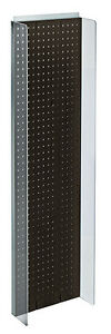 New Retails Black Plastic Pegboard Powerwing Display 14 w X 44 high