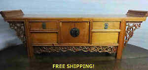 13 T Enchanting Miniature Chinese Carved Chest
